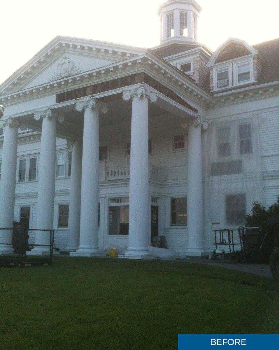 Before Shot Salisbury School UCE Fine Builders Renovation