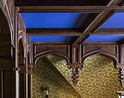 UCE Fine Builders Millwork wood beam stairway